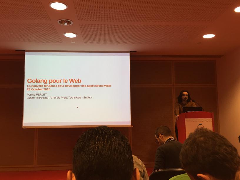 Conférence Golang - BlendWebMix 2015